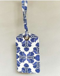 Vb Cotton Fabrics Canada - NWT VB Luggage Tag (Multi Color Available) Id Card holder
