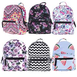 7f2461cfbf75 Fashion Trendy Portfolio Knapsack Printing Mini Travel Duffle Oxford School Bag  Ladies Bolsas Shoulder Escolar Backpack