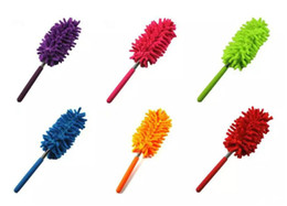 Fans book online shopping - 4 Color Scalable Microfiber Telescopic Dusters Chenille Cleaning Dust Desktop Household Dusting Brush Cars Cleaning Tool