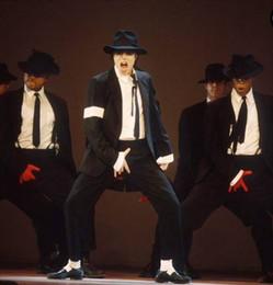 b07928815f0 Michael Jackson Cosplay MJ Cos Child Adult Custom Made Costume 5pcs  Dangerous Jacket+Pant+Shirt+Tie+Hat
