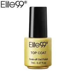 professional art kits 2019 - Elite99 Private Label Gel Nails Manicure Tool One Top Coat Nail Art Manicure Nails Gel Professional Kit Cured By LED Lam