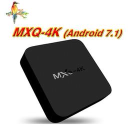 Ott Tv Canada - MXQ PRO MXQ-4K RK3229 Wifi Android 7.1 OTT TV Box 1GB 8GB Quad Core IPTV WIFI better T95M T95X T95N X92