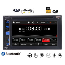 $enCountryForm.capitalKeyWord UK - Wireless Camera+Double 2Din Car DVD Player Stereo Radio 6.2''Bluetooth GPS SAT NAVI Headunit USB AUX 7 Color Button 8G Map &Remote Control