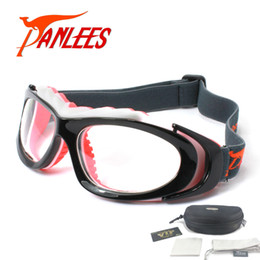 00bf829918a Panlees sports design Soccer Basketball Football Prescription optical  lenses Men Women elastic band strap safety Goggles