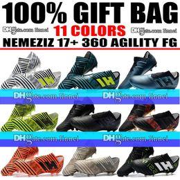 $enCountryForm.capitalKeyWord Canada - Cheap New Top Quality Nemeziz Messi Football Boots Outdoor Leather Soccer Shoes Nemeziz 17.1 FG Firm Ground Soccer Cleats Size US 6.5-11