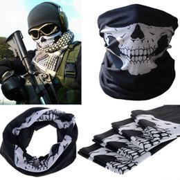 $enCountryForm.capitalKeyWord Australia - Hot Sale Men Women Cool Skull Design Adults Multi Function Ski Sport Motorcycle Biker Scarf Half Face Mask Sport Headband V172