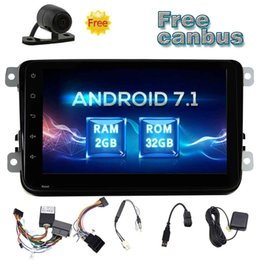 Stereo Double Australia - Eincar Android 7.1 Double Din Car Stereo OCTA Core 8'' GPS Navigation Car Radio In Dash Head Unit Bluetooth WiFi OBD2 Mirrorlink+CANB