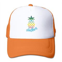 Aloha Pineapple Custom Fahion Men Women Trucker Baseball Hat Adjustable  Mesh Cap 94a695a7889e