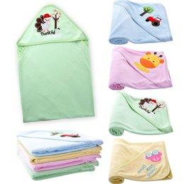 Coperta del cotone del bambino appena nato coperta del passeggino unsex per neonati ragazzi e ragazze con cappuccio coperta di bambino asciugamano avvolgere accappatoio