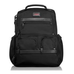 Высококачественный баллистический нейлоновый рюкзак для мужчин Наружная повседневная деловая сумка для ноутбука с ручным рюкзаком, как Tumi Brief Pack Alpha2 26173