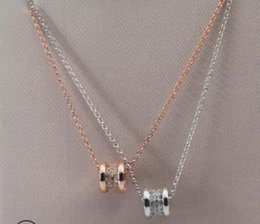 Necklace waist online shopping - S925 Sterling Silver rose gold necklace slim waist classic for women girls New fashion free of shipping