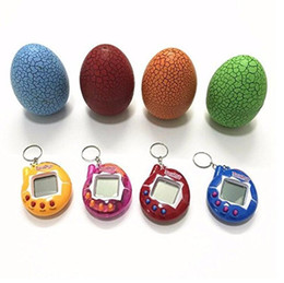 $enCountryForm.capitalKeyWord NZ - Tamagotchi tumbler Toy with a keychain EDC Multi-color Cartoon Surprise Egg Electronic Pet Mini Hand-hold Game Machine for Gifts Toy