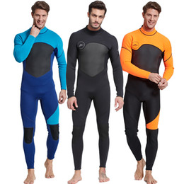 New 3mm Diving suit neoprene diving spearfishing wetsuit snorkel swimsuit  for men size M-2XL 2 colors 7f5b91224