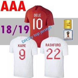 6ffa0862f 2018 2019 soccer Jersey World Cup DELE home KANE STURRIDGE STERLING  HENDERSON VARDY 18 19 away red football shirts top quality