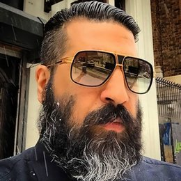 Großhandel Hohe Qualität Pilot Sonnenbrille Männer Marke Design Shades Fahren Vintage Aviation Sonnenbrille Spiegel Sonnenbrille Für Männer lentes de sol