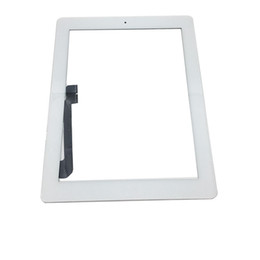 $enCountryForm.capitalKeyWord UK - 20Pcs For iPad Mini 1 2 3 for iPad 2 3 4 for iPad Air Touch Screen Digitizer Assembly Replacements With Home Button white Color