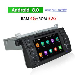 "Touch Screen Car Stereo Gps Bluetooth Australia - Single Din 7"" HD Touch Screen Car DVD Player GPS Navigation for BMW E46 M3 1998~2005 Radio Bluetooth TV AUX Android Auto Stereo"