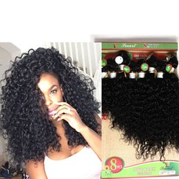 Afro Hair Extensions Bundles NZ - Afro Kinky Curly human Hair Weave Jerry curly hair Bundles 8 10 12 14 Inch Ombre Color Two Tone T1B 27 30 BUG Curly Hair extension 300gram