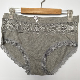 446a8bf82faa Ropa interior femenina women's briefs sexy lingeries Lace Plus Size 6XL Big  size lace flower cotton underwear women panties