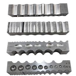 (32x32x205mm)стальной канал с 4-сторонней многоцелевой стальной dapping блок ювелирных изделий инструменты
