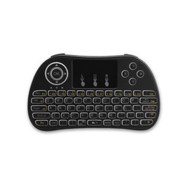 $enCountryForm.capitalKeyWord UK - Mini Wireless Keyboard With Touchpad Mouse Combo Multi-media Portable Handheld Rechargeable 2.4Ghz Keyboard for Android TV Box