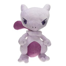 "best toys UK - Hot New 19"" 48CM Mewtwo Plush Doll Anime Collectible Dolls Best Gifts Stuffed Soft Toys"