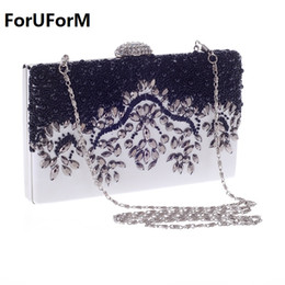 aa187d7676f9 Sale Promotion Women Hand Bag Elegant Pearl Type Womens Day Clutch Evening  Bags Wedding Bridal Handbag Purse Shoulder LI-987