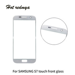 50Pcs High Quality Front Outer Touch Screen Glass For Samsung Galaxy S7 G9300 Outer Len Glass Screen Display Replacement Free DHL from value iphone manufacturers