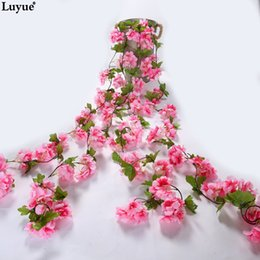 Festive & Party Supplies Home & Garden 80cm 1pc Artificial Willow Hanging Rattan Bouquet Hanging Flower Plant Vine For Home Wedding Wall Festival Decoration
