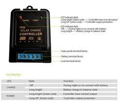 12v led controller online shopping - Intelligent A A V V Mini Solar Panel Light Controller Charge Controller for li ion Lead Acid Battery Use Off Grid Type