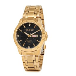 d2930a95792c High quality 39 mm gold case stainless steel quartz brand luxury men s watch  wholesale casual men s dress designer watch