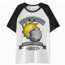 ddaa0f873 solar eclipse t shirt tee femme tops harajuku graphic tshirt cartoon women  clothing kawaii t-shirt female K4738