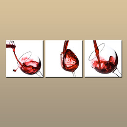 $enCountryForm.capitalKeyWord Australia - Framed Unframed Large Modern Wall Art Canvas Giclee Prints Red Wine Painting Abstract Picture Decor 3 piece Home Living Room Decor abc273