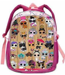 5445453bf89b 14 Inch LOL Dolls Baby Backpack Animal Anime Cute Casual School Bags  Toddlers Boys Girls Teenager Gift Bolsa Birthday q11