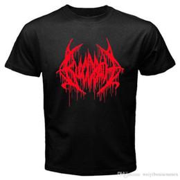 $enCountryForm.capitalKeyWord NZ - Fashion Style Short Men New BLOODBATH Death Metal Rock Band Logo Men's Black T-Shirt Size S to 3XL O-Neck Tall T Shirt