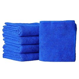 $enCountryForm.capitalKeyWord UK - 5pcs Auto Care 30cmx30cm Microfiber Car Cleaning Cloths Car Care Microfibre Wax Polishing Detailing Towels