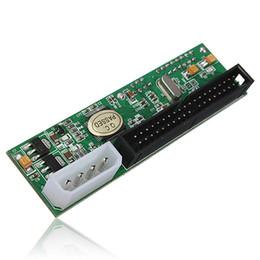 """Discount new ide hard drive - New 2.5"""" 3.5"""" Hard Drive Serial SATA to ATA IDE PATA Card 40Pin HDD CD DVD Converter Adapter SATA To Male 40Pi"""