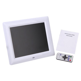 China Top Deals 7 inch HD TFT-LCD Digital Photo Frame with MP3 MP4 slideshow Clock Remote Desktop Movie Player cheap video photo frame suppliers