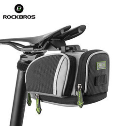 $enCountryForm.capitalKeyWord Australia - ROCKBROS Cycling Saddle Bags Mountain Road Bike MTB Seat Post Bag Fixed Gear Fixie Cycle Rear Bags Bicycle Accessories 3 Colors