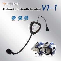 $enCountryForm.capitalKeyWord Canada - 20pcs Good quality Motorcycle V1-1 Bluetooth Helmet Headset Intercom Interphone Wireless Handsfree Call Sport Speaker intercomunicador
