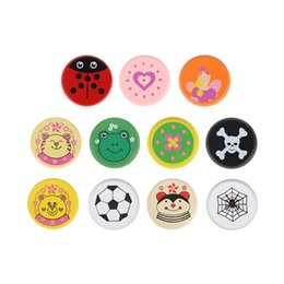 yoyo Australia - Colorful animal yo-yo toy Bearing Professional Yoyo Toys wood High Precision Game Special Props diabolo jling