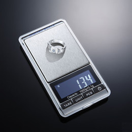 Mini electronic digital balance weight scale online shopping - Digital Scales Pocket libra jewelry Mini balance Electronic scale musculation joyeria balanca Weighing weights Scales g