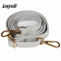 $enCountryForm.capitalKeyWord Canada - wholesale 120cm Replacement Bag Strap Crossbody Bag Straps PU Leather Shoulder Parts Adjustable Belt Handle Hands Bag Accessories
