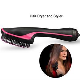 Air Brush Hair Styler NZ - One Step Hair Dryer & Styler, Meraif Hot Air Paddle Brush Negative Ion Generator Salon Hair Straightener for All Hair Types