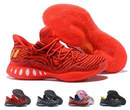 newest d8eec 91391 adidas El más nuevo Color 2018 Crazy Botas explosivas Andrew Wiggins  Zapatillas de baloncesto para hombres de alta calidad Calcetines zapatillas  de deporte ...