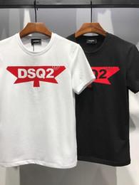 Sh faShion online shopping - 2018 New Fashion Tide Brand Man Clothes Black T shirt Men T Shirts Men s Clothing Casual XL Cotton Print Letter Short Sleeve T sh