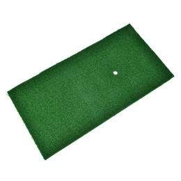 practice pads 2019 - 1PC Nylon+Rubber Backyard Golf Mat Golf Training Hitting Pad Training Hitting Pad Indoor Outdoor Practice Mat 60x30x1cm