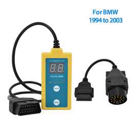 Obd Tools Bmw Canada - LK B800 OBD SRS Reset Scanner Diagnostic Tool Airbag Car Electronic Repair Tool for BMW 1994 - 2003
