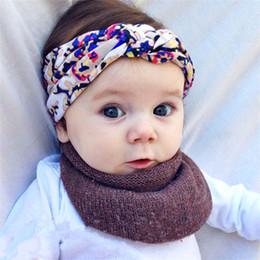8e08ffc2eff Cute Colorful Boho Newborn Baby Headband Ribbon Elastic Floral Print  Bowknot Baby Headwear Hairbands Birthday Christmas Gift