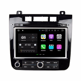 "vw android stereo UK - 2 din 8""Android 7.1 Car Radio DVD GPS Head Unit Car DVD for VW Volkswagen Touareg 2010-2014 With 2GB RAM Bluetooth WIFI Mirror-link"